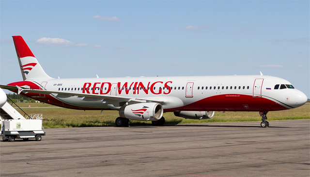 Самолет Airbus A321 Red Wings