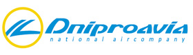 Авиакомпания Днеправиа (Dniproavia) логотип