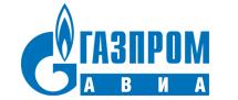 Авиакомпания Газпромавиа (Gazpromavia) логотип