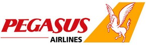Авиакомпания Pegasus Airlines (Пегасус Эйрлайнс) логотип