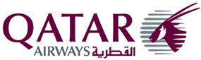 Авиакомпания Катарские авиалинии (Qatar Airways) логотип