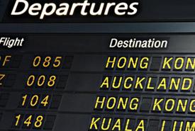 Зимнее расписание авиакомпаний вступает в силу