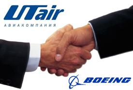 ОАО «Авиакомпания «ЮТэйр» закупит 40 самолётов Boeing 737