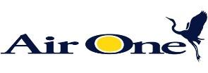 Авиакомпания Air One (Эйр Ван) логотип