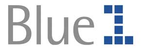 Авиакомпания Blue1 (Блу Ван) логотип