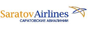 Авиакомпания Саратовские авиалинии Саравиа (Saravia) логотип