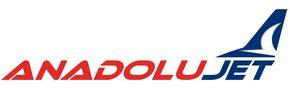 Авиакомпания AnadoluJet (Анадолу Джет) логотип