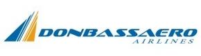 Авиакомпания Донбассаэро (Donbassaero) логотип