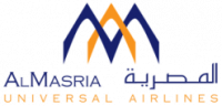Авиакомпания AlMasria Universal Airlines (АльМарсия Юниверсал Эйрлайнс) логотип