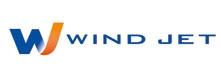 Авиакомпания Wind Jet (Винд Джет) логотип