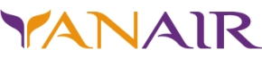 Авиакомпания YanAir (ЯнЭйр) логотип